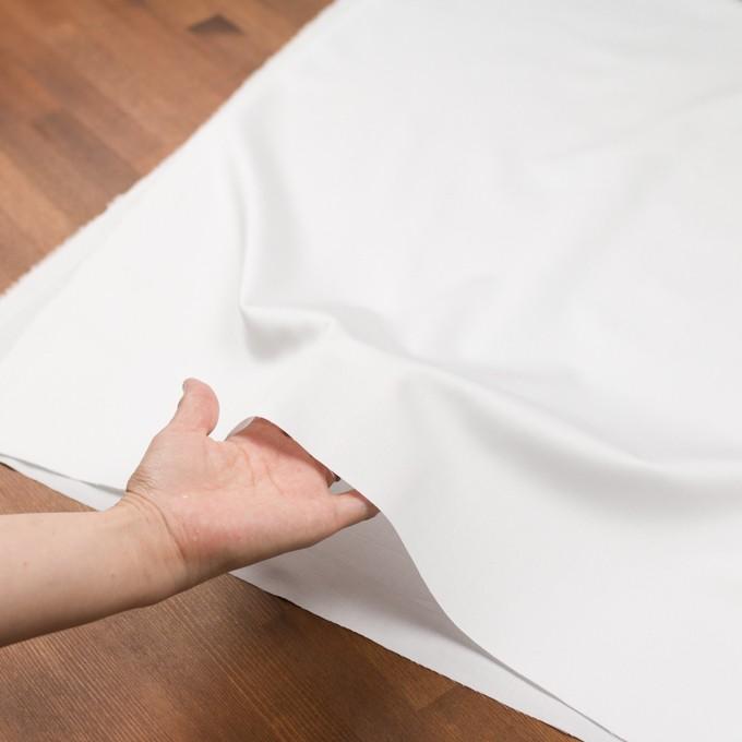 コットン×無地(ホワイト)×サテン イメージ5
