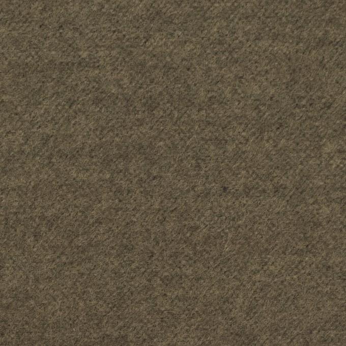 コットン×無地(カーキ)×フランネル_全5色 イメージ1