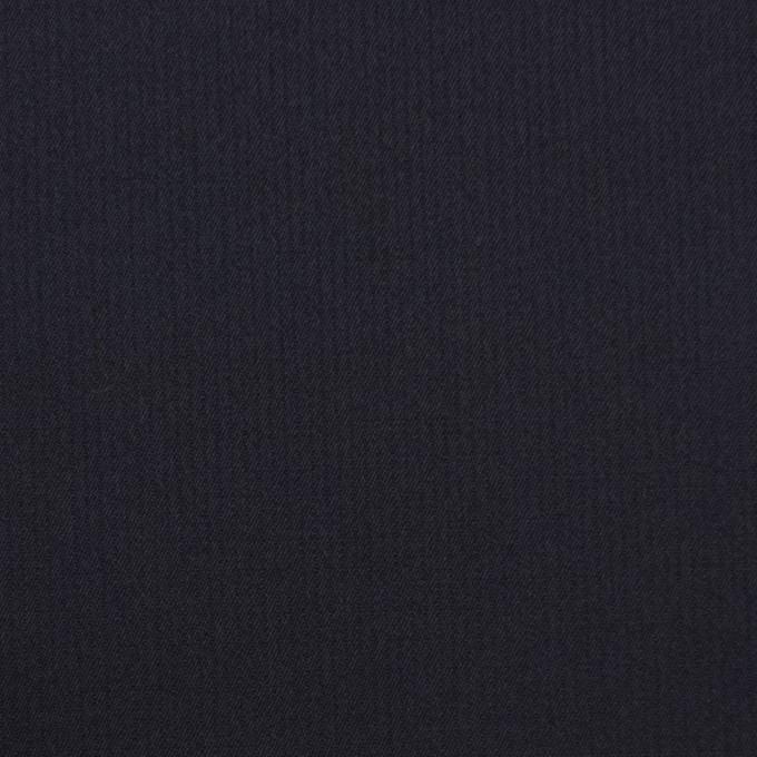 コットン×無地(ダークネイビー)×かわり織_全3色 イメージ1
