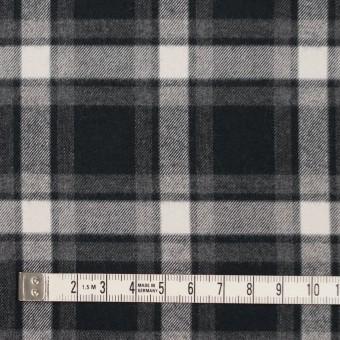 コットン×チェック(グレー&ブラック)×ビエラ サムネイル4