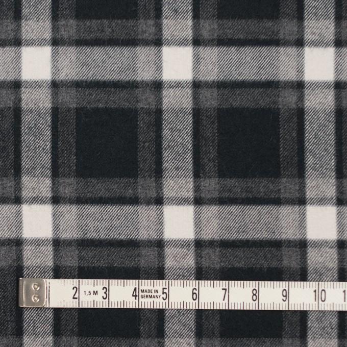 コットン×チェック(グレー&ブラック)×ビエラ イメージ4