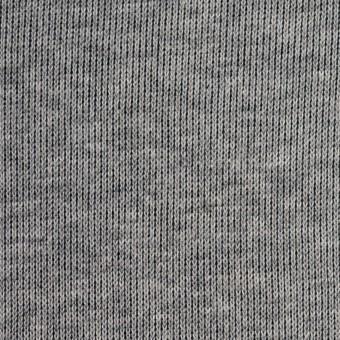 コットン×無地(杢グレー&ネイビー)×リブ&天竺ニット サムネイル1