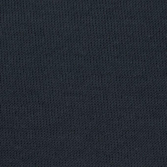 コットン×無地(チャコール)×リブ&天竺ニット_全3色 イメージ1