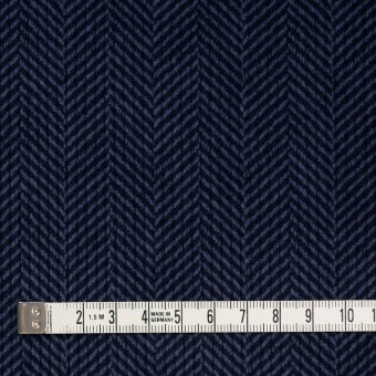 コットン×バイヤス(ブルーグレー&ネイビー)×中コーデュロイ サムネイル4