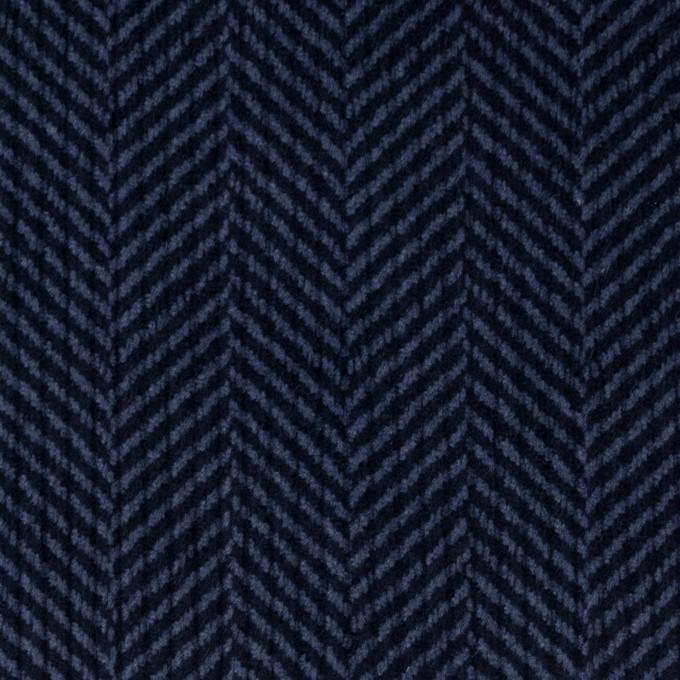 コットン×バイヤス(ブルーグレー&ネイビー)×中コーデュロイ イメージ1