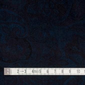 コットン&ポリウレタン×ペイズリー(ダークネイビー)×ベッチンストレッチ サムネイル4