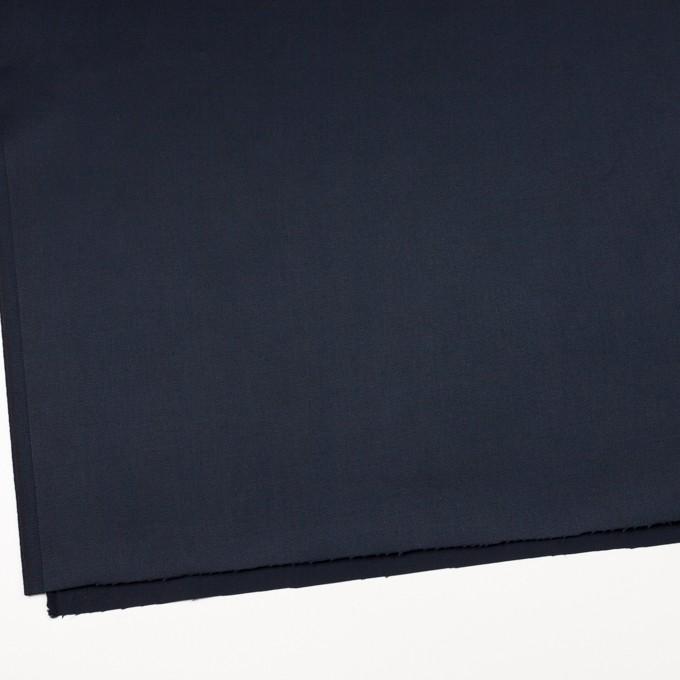 コットン×無地(ダークネイビー)×サテン_全3色 イメージ2