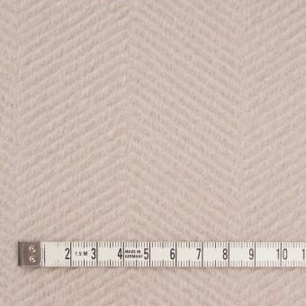 ウール&アンゴラ×無地(ウォームベージュ)×かわり織 サムネイル4