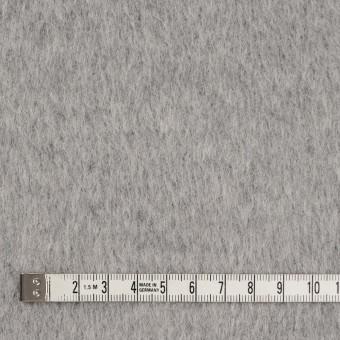 ウール×無地(ライトグレー)×シャギー サムネイル4