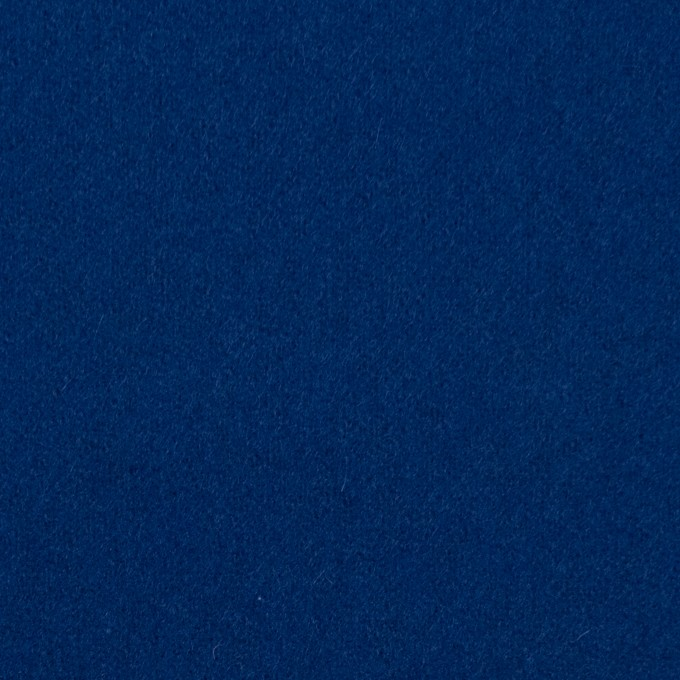 ウール×無地(ネイビーブルー)×フラノ(フランネル) イメージ1