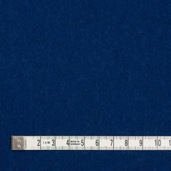 ウール&ナイロン×無地(ネイビーブルー)×メルトン サムネイル4