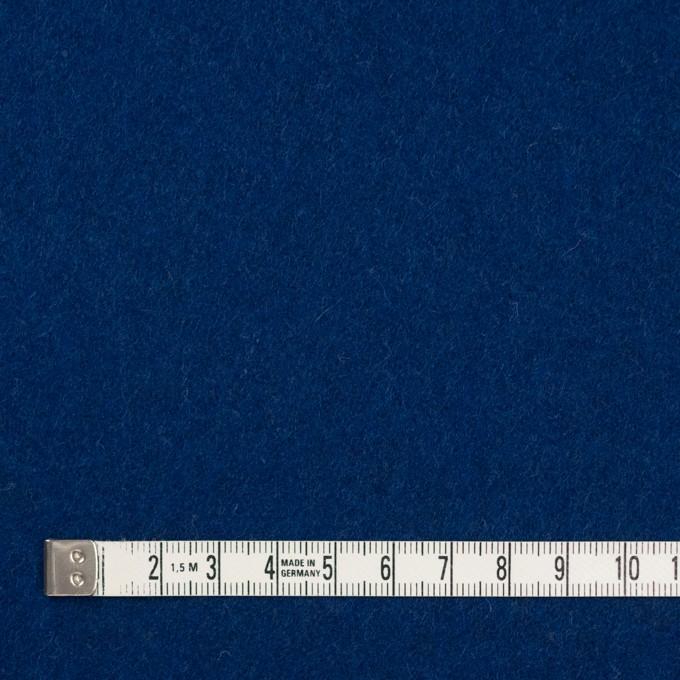 ウール&ナイロン×無地(ネイビーブルー)×メルトン イメージ4