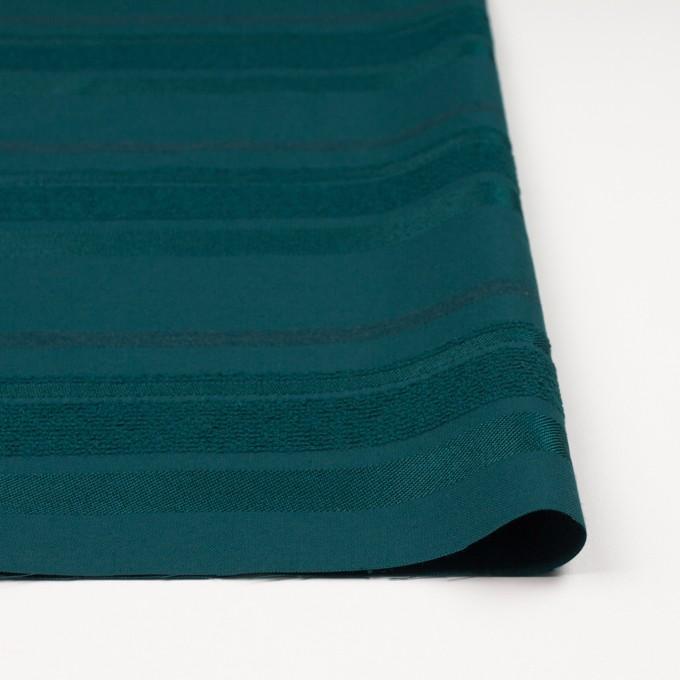 ポリエステル&ナイロン混×ボーダー(クロムグリーン)×ジャガード_全2色 イメージ3