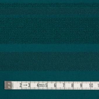ポリエステル&ナイロン混×ボーダー(クロムグリーン)×ジャガード_全2色 サムネイル4