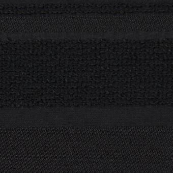 ポリエステル&ナイロン混×ボーダー(ブラック)×ジャガード_全2色 サムネイル1