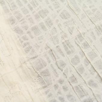 ウール&ナイロン×幾何学模様(クリーム)×ガーゼ サムネイル6