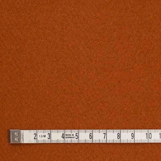 ウール&ナイロン×無地(マロン)×かわり織 イメージ4