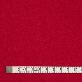 ウール&ポリエステル混×無地(レッド)×ソフトメルトン サムネイル4