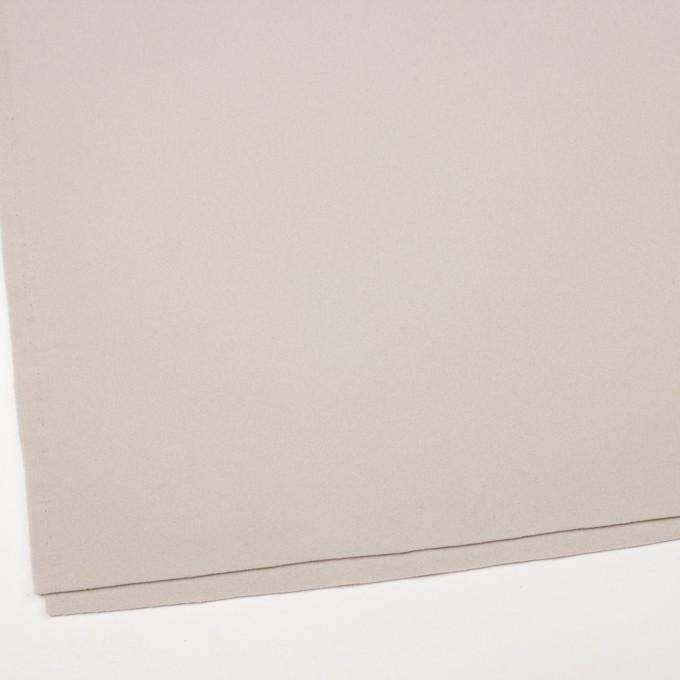 ウール&ナイロン×無地(アイボリー)×ソフトメルトン イメージ2