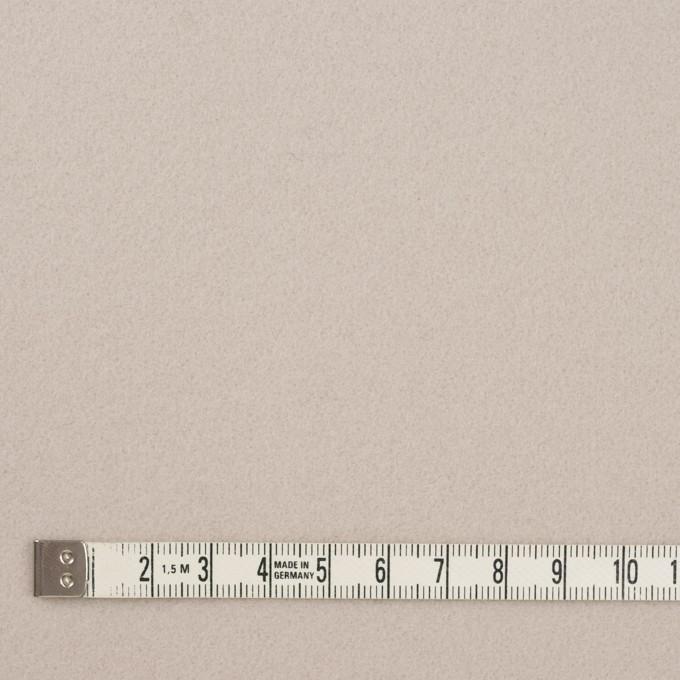 ウール&ナイロン×無地(アイボリー)×ソフトメルトン イメージ4