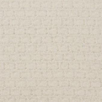 ウール&アンゴラ混×無地(アイボリー)×かわり織