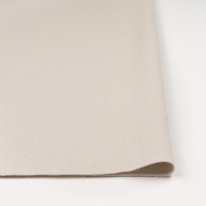 ウール&アンゴラ×無地(アイボリー)×かわり織 イメージ3