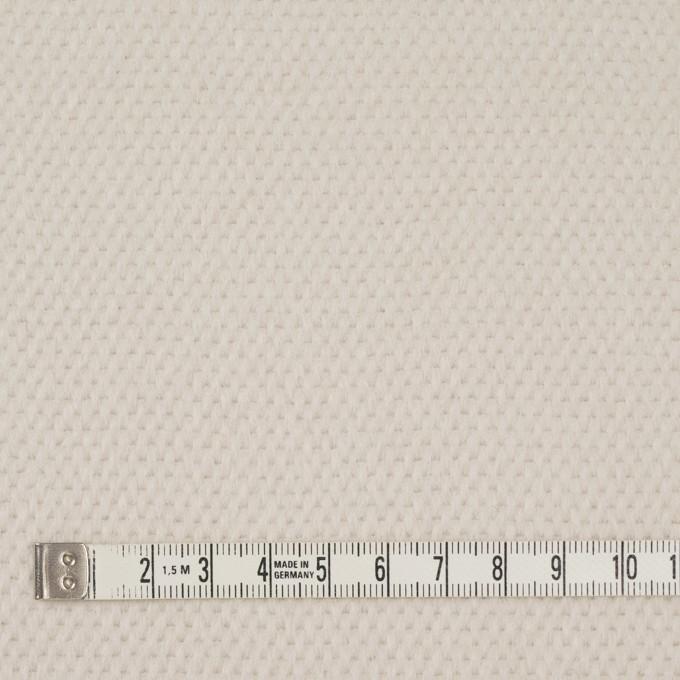 ウール&アンゴラ×無地(アイボリー)×かわり織 イメージ4