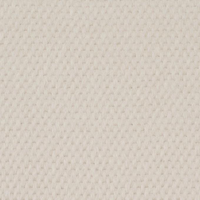 ウール&アンゴラ×無地(アイボリー)×かわり織 イメージ1