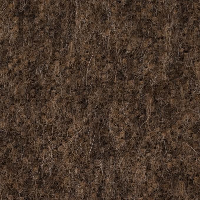 アルパカ&ウール×ミックス(ブラウン)×シャギー イメージ1