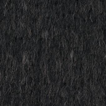 ウール&ポリエステル×無地(チャコールグレー)×シャギー サムネイル1