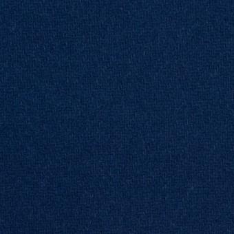 ウール&ナイロン×無地(ネイビーブルー)×厚カルゼ