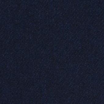 ウール&ポリエステル混×無地(ダークネイビー)×サキソニー