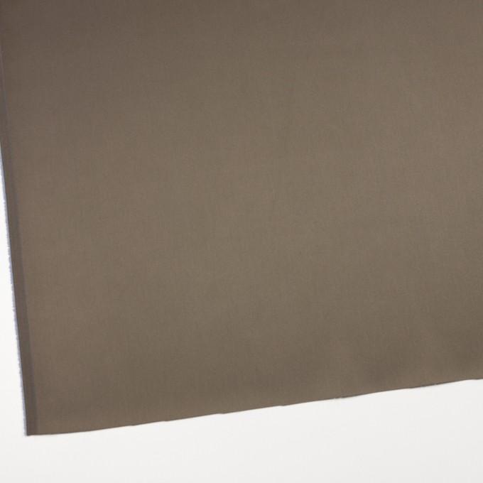 コットン&ナイロン混×無地(カーキ)×サテンストレッチ_全6色 イメージ2