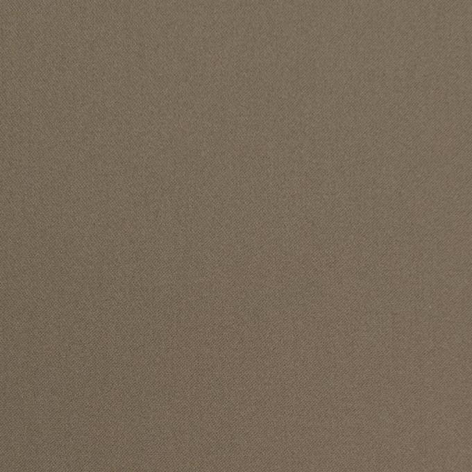 コットン&ナイロン混×無地(カーキ)×サテンストレッチ_全6色 イメージ1
