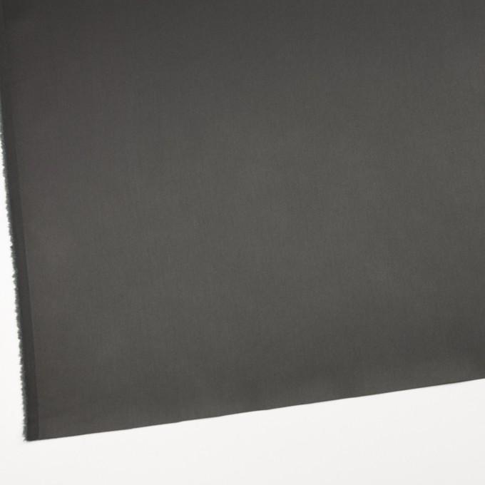 コットン&ナイロン混×無地(スチールグレー)×サテンストレッチ_全6色 イメージ2