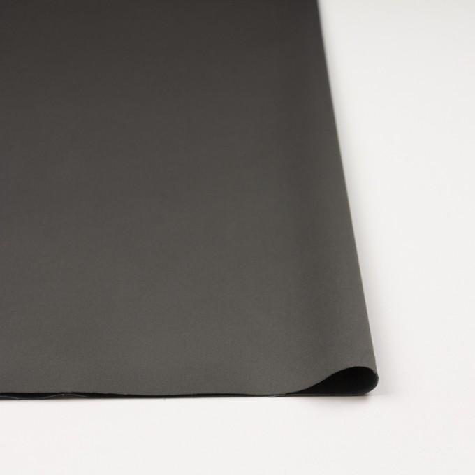 コットン&ナイロン混×無地(スチールグレー)×サテンストレッチ_全6色 イメージ3