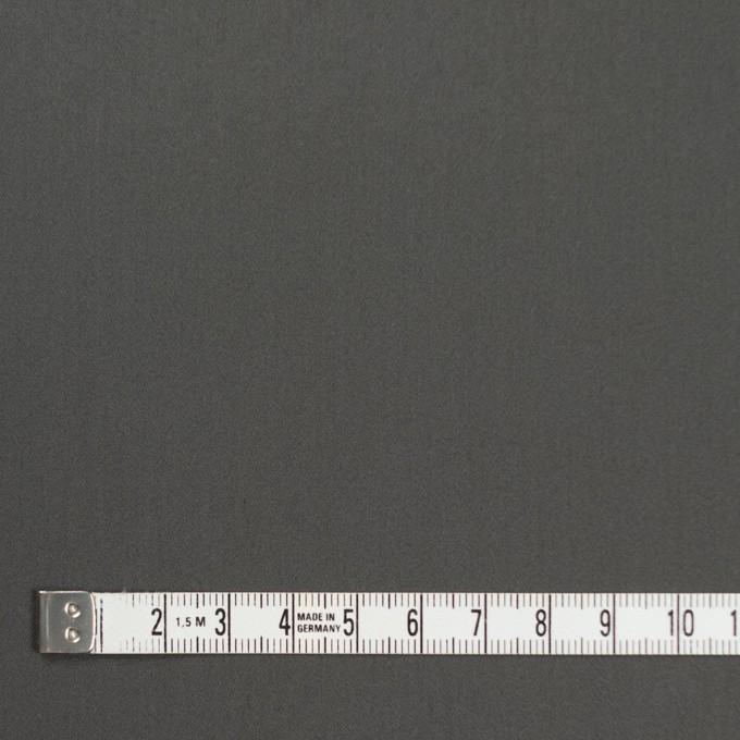 コットン&ナイロン混×無地(スチールグレー)×サテンストレッチ_全6色 イメージ4