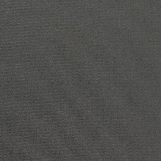 コットン&ナイロン混×無地(スチールグレー)×サテンストレッチ_全6色 イメージ1