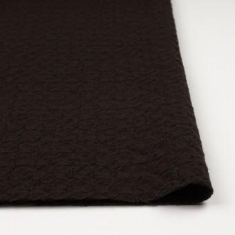 ウール&ポリエステル混×無地(ダークブラウン)×かわり織_全2色 サムネイル3