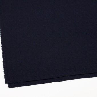 ウール&ポリエステル混×無地(ダークネイビー)×かわり織_全2色 サムネイル2