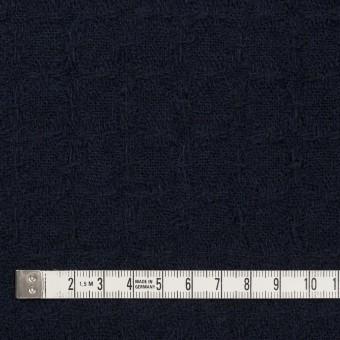 ウール&ポリエステル混×無地(ダークネイビー)×かわり織_全2色 サムネイル4