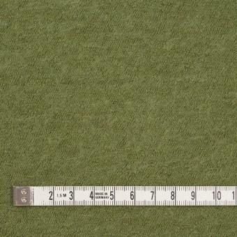 ウール×無地(グリーンティー)×圧縮メッシュニット サムネイル4