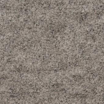 ウール&ナイロン×無地(グレー)×ループニット