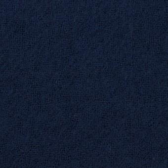 ウール×無地(ネイビー)×ガーゼ_全5色 サムネイル1