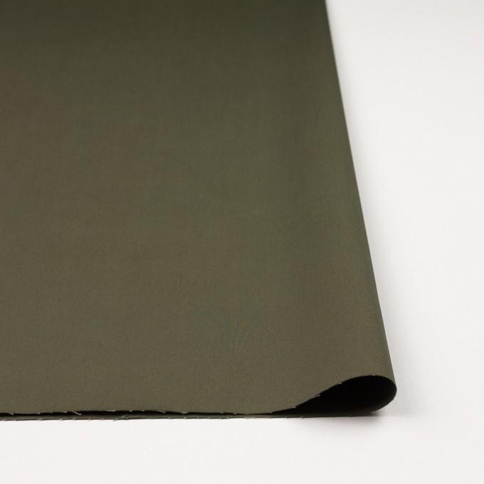 コットン×無地(カーキグリーン)×ギャバジン_全3色 イメージ3