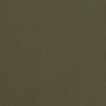 コットン×無地(カーキグリーン)×ギャバジン_全3色