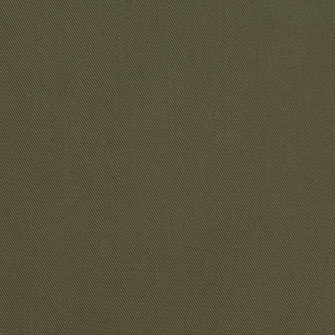 コットン×無地(カーキグリーン)×ギャバジン_全3色 イメージ1