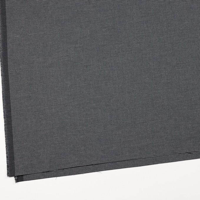 コットン&ポリノジック混×チェック(グレー&チャコール)×千鳥格子ストレッチ イメージ2