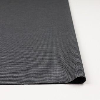 コットン&ポリノジック混×チェック(グレー&チャコール)×千鳥格子ストレッチ サムネイル3