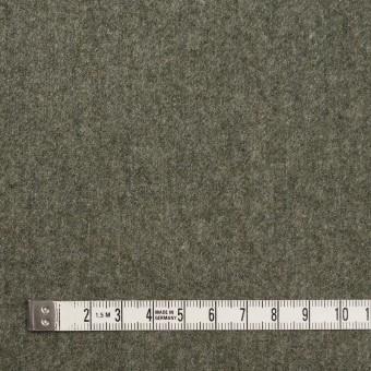 ウール&ナイロン×無地(アイビーグリーン)×フラノ(フランネル) サムネイル4